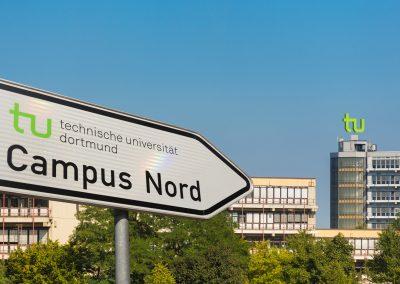Wegweiser Campus Nord