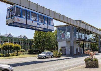 H-Bahn Haltestelle Technologiezentrum