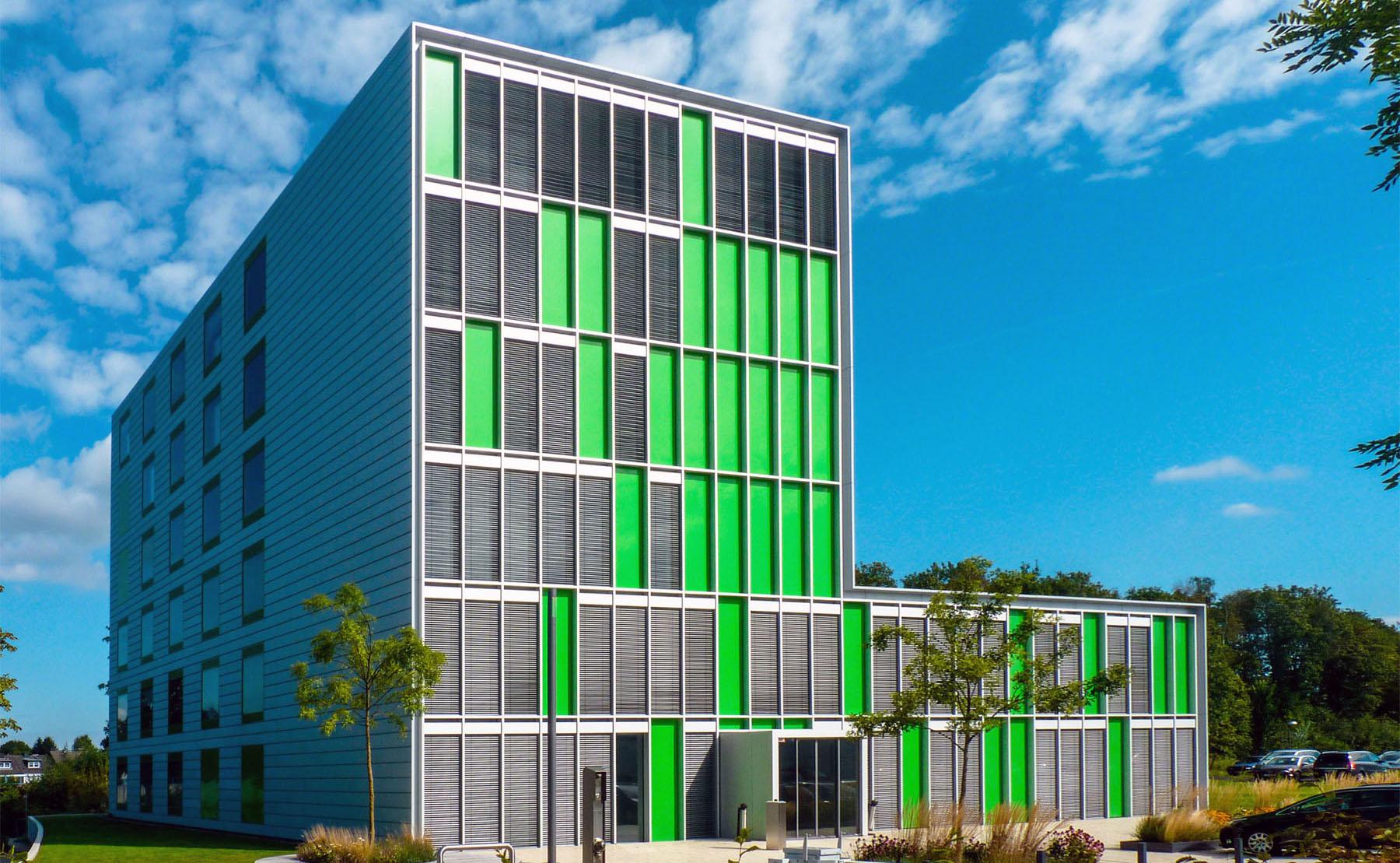 Gebäude des neuen LogistikCampus