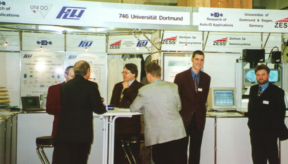 Messestand des FLW Anfang der 1980er Jahre
