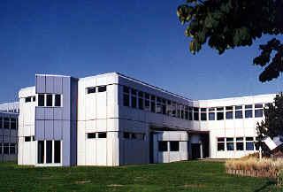 Seitenschiff des IML-Gebäudes