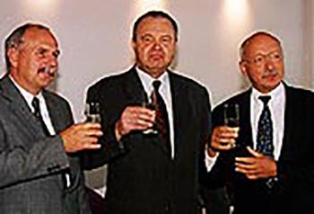 Foto Professor Jünemann zur Emeritierung