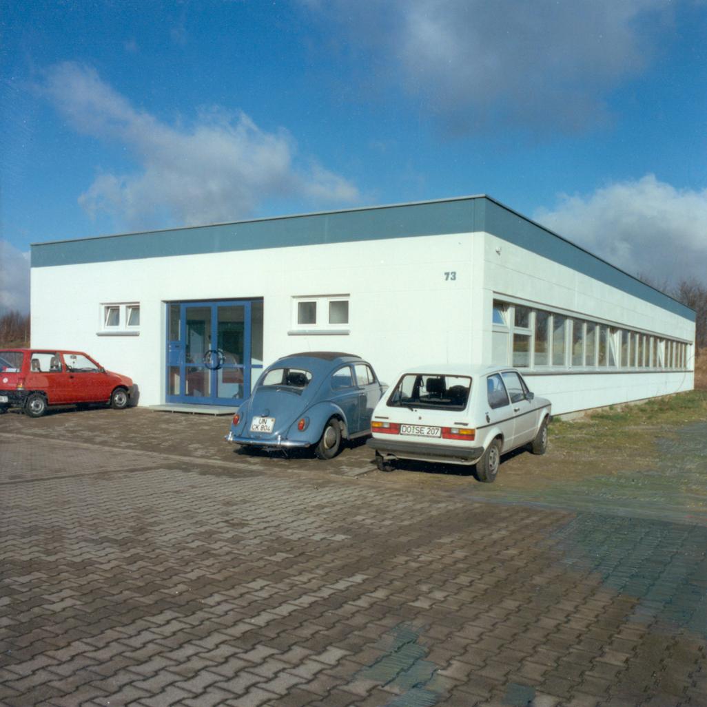 Neues Bürogebäude des FLW