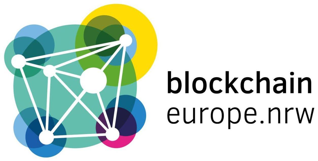 Logo Blockchain europe.nrw