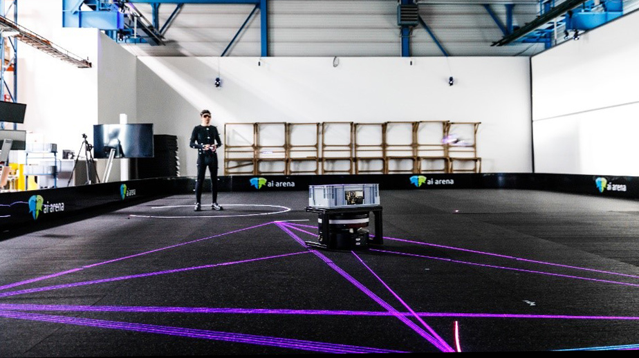 Szenario für das realwissenschaftliche Forschungs- und Qualifizierungsprojekt AI Arena