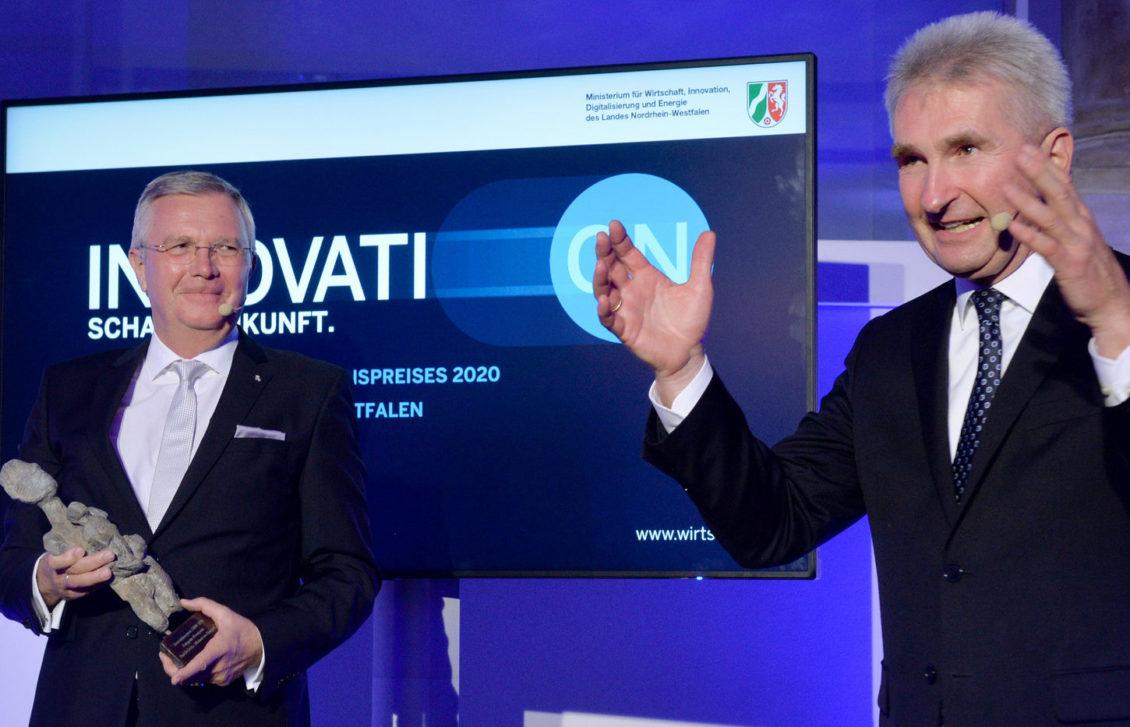 Verleihung des Innovationspreises NRW 2020