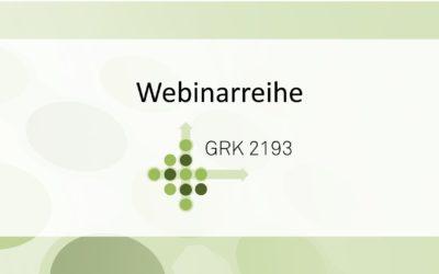Webinarreihe des GRK 2193